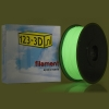 Filament glow in the dark groen 1,75 mm PLA 1 kg Apollo serie (123-3D huismerk)
