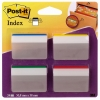 3M Post-it gebogen indextabs strong voor hangmappen (24 tabs)