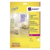 Avery zweckform L7784-25 crystal clear etiketten A4 210 x 297 mm (25 etiketten)
