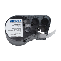 Brady MC-750-427 gelamineerde vinyl labels 19,05 mm x 7,62 m x 9,53 mm (origineel) MC-750-427 146024