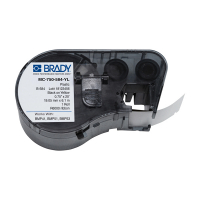Brady MC-750-584-YL plastic labels 19,05 mm x 6,1 mm (origineel) MC-750-584-YL 146116