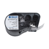 Brady MC-750-595-CL-WT tape vinyl wit op transparant 19,05 mm x 6,1 m (origineel) MC-750-595-CL-WT 147080