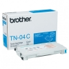 Brother TN-04C toner cyaan (origineel) TN04C 029760