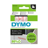 Dymo S0720520 / 45012 tape rood op transparant 12 mm (origineel) S0720520 088204