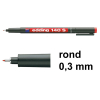 Edding 140S OHP marker rood (0,3 mm rond)