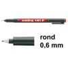 Edding 141F OHP marker rood (0,6 mm rond)