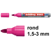 Edding 250 whiteboard marker roze (1,5 - 3 mm rond)