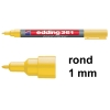 Edding 361 whiteboard marker geel (1 mm rond) 4-361005 200845