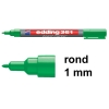 Edding 361 whiteboard marker groen (1 mm rond) 4-361004 200660
