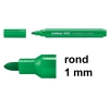 Edding 366 mini whiteboard marker groen (1 mm rond)