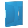 Esselte 6240 Vivida documentenbox transparant blauw 47 mm (380 vel)