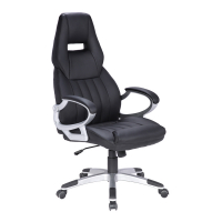 Bureaustoel Zwart Design.Kangaro Verstelbare Design Bureaustoel Zwart Kangaro 123inkt Be