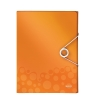 Leitz 4629 WOW documentenbox oranje metallic 30 mm (250 vel)