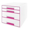 Leitz 5213 WOW ladenblok roze metallic (4 laden) 52132023 202534