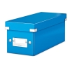 Leitz 6041 WOW CD-box blauw metallic