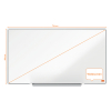 Nobo Impression Pro Widescreen whiteboard magnetisch gelakt staal 71 x 40 cm 1915253 247396