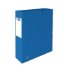 Oxford elastobox Top File+ blauw 60 mm