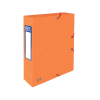 Oxford elastobox Top File+ oranje 60 mm