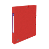 Oxford elastobox Top File+ rood 25 mm