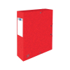Oxford elastobox Top File+ rood 60 mm