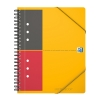 Oxford international meetingbook A5 gelinieerd 80 grams 80 vel oranje