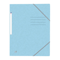 Oxford kartonnen Top File+ elastomap pastelblauw 400116359 260141