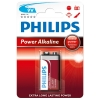 Philips Power Alkaline 6LR61 9V E-Block batterij 6LR61P1B/10 098306