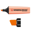 Stabilo BOSS markeerstift pasteloranje 70-126 200080