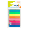 Stick'n gekleurde indexen 45 x 8 mm (8 x 20 tabs)