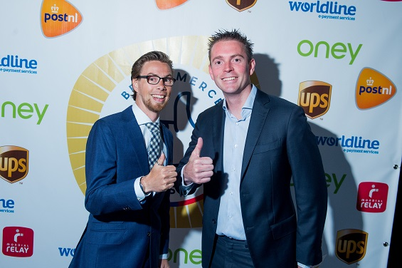 Blije winnaars BeCommerce Awards