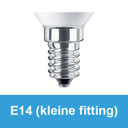 E14 kleine fitting